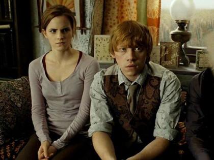 Ron Weasley y Hermione Granger | Harry Potter y la Orden del Fénix